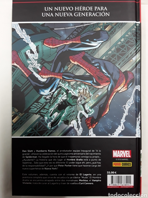 Cómics: El asombroso Spiderman 37 (Marvel saga) - Slott, Reed, Camuncoli, Ramos, Garbett - Panini / Marvel - Foto 2 - 163044218