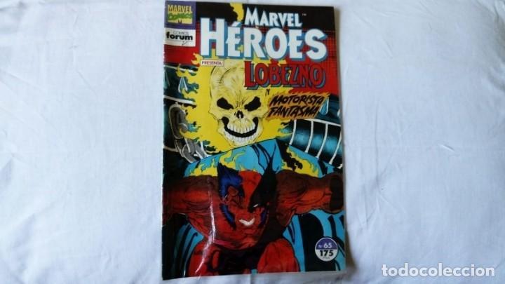 LOBEZNO Y MOTORISTA FANTASMA N 65 (Tebeos y Comics - Panini - Marvel Comic)