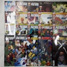 Comics: PATRULLA-X AZUL DEL 1 AL 20 (GRAPA) (COLECCIÓN COMPLETA) - PANINI / MARVEL. Lote 174056242