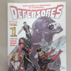 Cómics: DEFENSORES Nº 1 - POSIBLE ENVÍO GRATIS - PANINI - MATT FRACTION & TERRY DODSON. Lote 58740456
