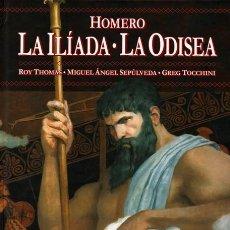 Cómics: CLASICOS ILUSTRADOS MARVEL HOMERO. LA ILIADA - LA ODISEA - PANINI - CARTONE - IMPECABLE - OFF15. Lote 165653206