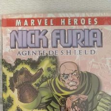 Cómics: COLECCIONABLE MARVEL HÉROES NICK FURIA AGENTE DE SHIELD. Lote 165681610