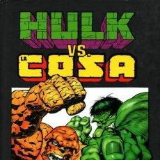 Cómics: HULK VS. LA COSA - PANINI - CARTONE - IMPECABLE - OFF15. Lote 165682194