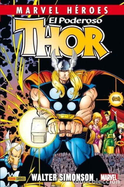 MARVEL HEROES Nº 49 EL PODEROSO THOR - PANINI - CARTONE - IMPECABLE - OFF15 (Tebeos y Comics - Panini - Marvel Comic)