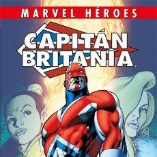 Cómics: MARVEL HEROES Nº 92 CAPITAN BRITANIA - PANINI - CARTONE - IMPECABLE - OFF15. Lote 165760554