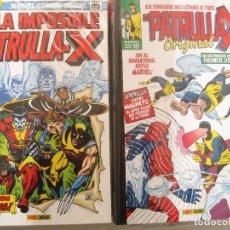 Cómics: LA IMPOSIBLE PATRULLA X ORIGINAL---OMNIGOLD MARVEL GOLD PANINI---2 TOMOS NUEVOS. Lote 165785994