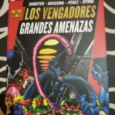 Cómics: LOS VENGADORES - GRANDES AMENAZAS (MARVEL GOLD). Lote 165797382