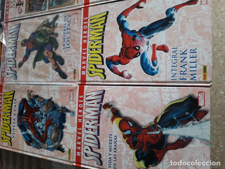 Cómics: MARVEL HEROES 16 TOMOS PATRULLA X SPIDERMAN 4 FANTASTICOS CAPITAN AMERICA VENGADORES ETC - Foto 2 - 165964538