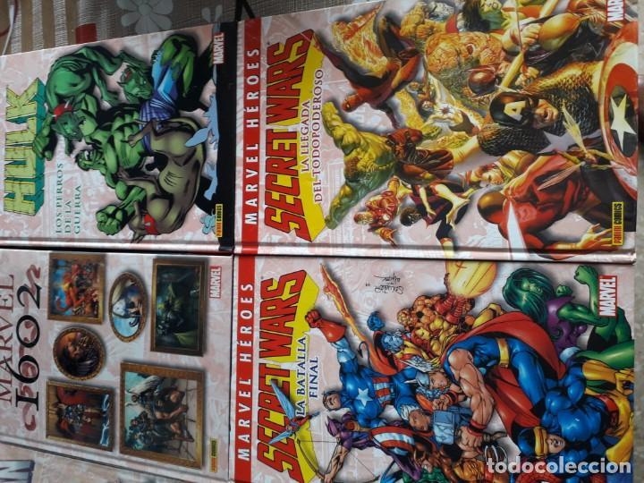 Cómics: MARVEL HEROES 16 TOMOS PATRULLA X SPIDERMAN 4 FANTASTICOS CAPITAN AMERICA VENGADORES ETC - Foto 3 - 165964538