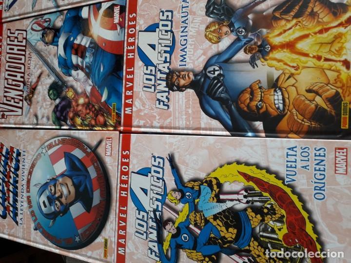 Cómics: MARVEL HEROES 16 TOMOS PATRULLA X SPIDERMAN 4 FANTASTICOS CAPITAN AMERICA VENGADORES ETC - Foto 4 - 165964538