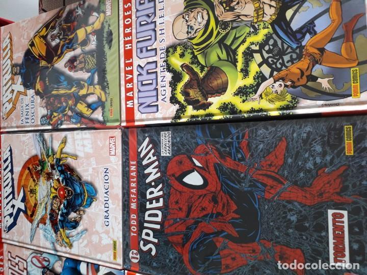 Cómics: MARVEL HEROES 16 TOMOS PATRULLA X SPIDERMAN 4 FANTASTICOS CAPITAN AMERICA VENGADORES ETC - Foto 5 - 165964538