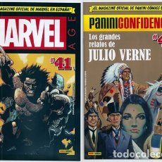 Cómics: MARVEL AGE + PANINI CONFIDENCIAL, 41: LOBEZNO / VENENO / DAREDEVIL / ESTELA PLATEADA /... - 05/2019. Lote 166463574