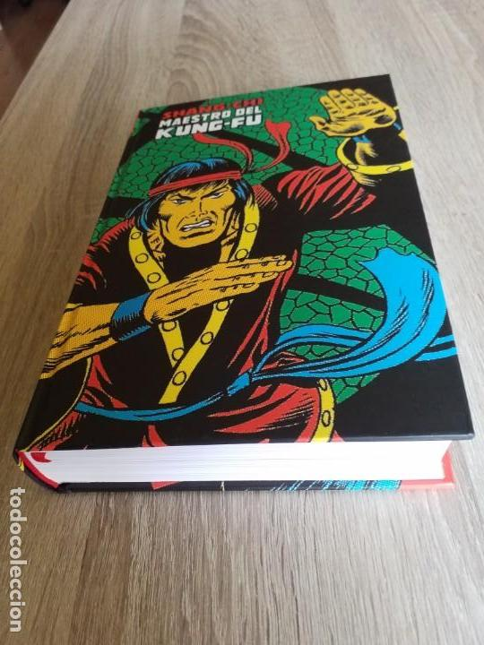 Cómics: SHANG-CHI 1 MAESTRO DEL KUNG-FU MARVEL LIMITED EDITION PANINI IMPECABLE - Foto 4 - 186044997