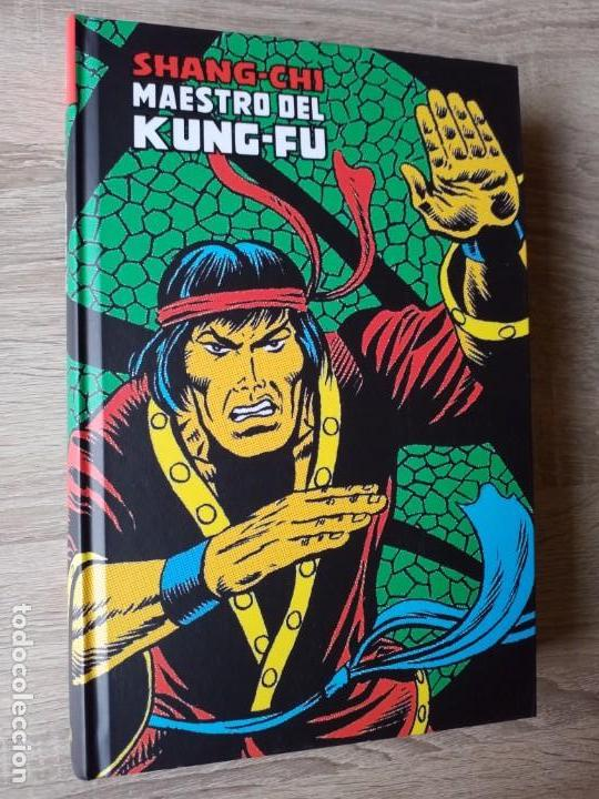 SHANG-CHI 1 MAESTRO DEL KUNG-FU MARVEL LIMITED EDITION PANINI IMPECABLE (Tebeos y Comics - Panini - Marvel Comic)