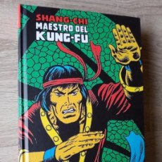 Cómics: SHANG-CHI 1 MAESTRO DEL KUNG-FU MARVEL LIMITED EDITION PANINI IMPECABLE. Lote 186044997