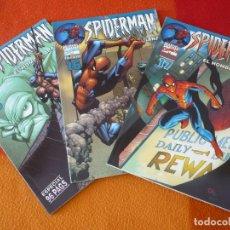 Cómics: SPIDERMAN EL HOMBRE ARAÑA VOL 6 NºS 15, 16 Y 17 (STRACZYNSKI JENKINS) ¡MUY BUEN ESTADO! MARVEL FORUM. Lote 167019512