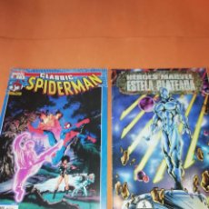 Cómics: CLASSIC SPIDERMAN Nº 1 & HEROES MARVEL ESTELA PLATEADA Nº1 BUEN ESTADO.. Lote 167119152