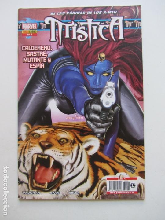 MISTICA VOL.1 Nº 4 (PANINI,2005) - X-MEN - 48 PAGS VAUGHAN RYAN BUEN ESTADO E3X2 (Tebeos y Comics - Panini - Marvel Comic)