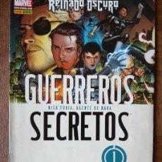 Cómics: GUERREROS SECRETOS Nº 1 - PANINI MARVEL COMICS -. Lote 167592584