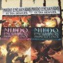 Cómics: MIEDO ENCARNADO. LOTE DE 4 COMICS.. Lote 167710496