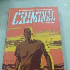 Fumetti: CRIMINAL 2: LAWLESS. ED BRUBAKER-SEAN PHILLIPS. PANINI COMICS. Lote 168161284