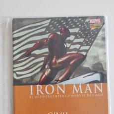 Cómics: MARVEL COMICS - IRON MAN ESPECIAL CIVIL WAR 2007. Lote 168174740