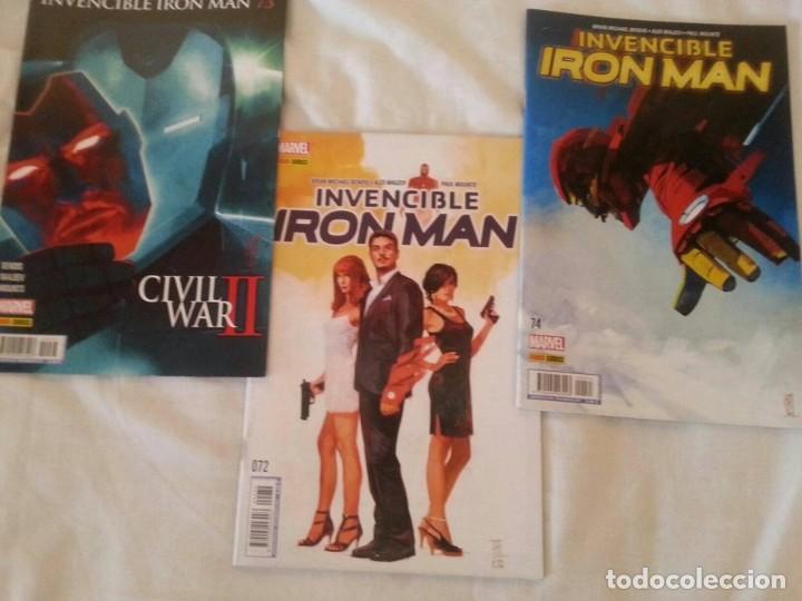 INVENCIBLE IRON MAN 72 - 74 // INTERNATIONAL IRON MAN COMPLETA (Tebeos y Comics - Panini - Marvel Comic)