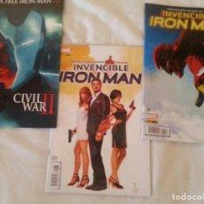 Cómics: INVENCIBLE IRON MAN 72 - 74 // INTERNATIONAL IRON MAN COMPLETA. Lote 168213896