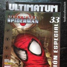 Cómics: MARVEL COMICS - ULTIMATUM 33 SPIDERMAN ULTIMATE EDICION ESPECIAL - HAGA SU OFERTA. Lote 168339888