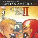 Cómics: CAPITAN AMERICA VOL.8 # 75 (PANINI,2016) - NICK SPENCER - CIVIL WAR II. Lote 168496192