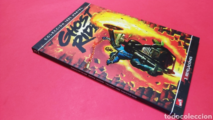 DE KIOSCO GHOST RIDER 3 REVELACIONES COLECCION 100 % MARVEL PANINI (Tebeos y Comics - Panini - Marvel Comic)