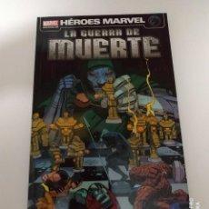 Cómics: HEROES MARVEL LA GUERRA DE MUERTE PANINI MARVEL. Lote 168861088