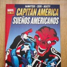 Cómics: MARVEL GOLD CAPITÁN AMÉRICA: SUEÑOS AMERICANOS. TOMO PANINI. Lote 169174564