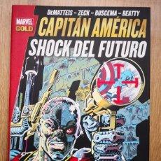 Cómics: MARVEL GOLD CAPITÁN AMÉRICA: SHOCK DEL FUTURO. TOMO PANINI. Lote 169175428
