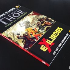 Cómics: DE KIOSKO EL PODEROSO THOR 3 EXILIADOS HEROES MARVEL PANINI. Lote 169266249