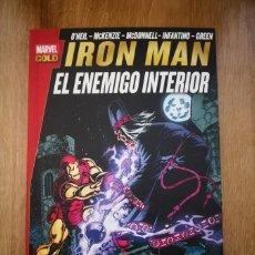 Cómics: MARVEL GOLD IRON MAN: EL ENEMIGO INTERIOR. TOMO PANINI. Lote 169296756