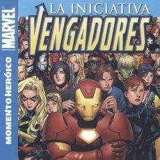 Cómics: LOS VENGADORES LA INICIATIVA Nº 1 MOMENTO HEROICO - PANINI - ESTADO EXCELENTE - OFF15. Lote 169680860