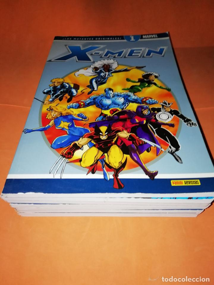 X- MEN LOS MUTANTES ORIGINALES. COLECCIONABLE DEL Nº 1 AL 8. BUEN ESTADO. (Tebeos y Comics - Panini - Marvel Comic)