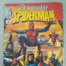 Cómics: EL INCREÍBLE SPIDERMAN - REVISTA Nº 1- INVITADOS: LOS VENGADORES. Lote 184901171