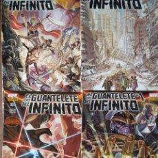Cómics: EL GUANTELETE DEL INFINITO DEL Nº 1 AL 4 - SECRET WARS - PANINI MARVEL COMICS- THANOS. Lote 170287816