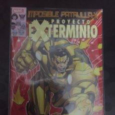 Cómics: LA IMPOSIBLE PATRULLA X N.42 . PROYECTO EXTERMINIO . SECRET WARS . ( 2012/- ). Lote 170985349