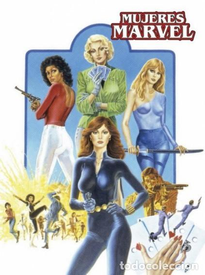 MARVEL LIMITED EDITION MUJERES MARVEL - PANINI - CARTONE - IMPECABLE - OFSPJ (Tebeos y Comics - Panini - Marvel Comic)