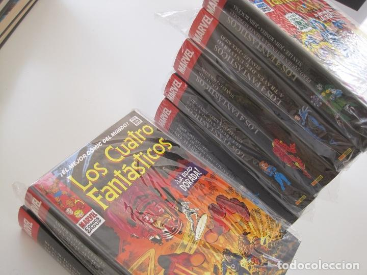 LOS 4 CUATRO FANTASTICOS--MARVEL GOLD OMNIGOLD--MARVEL PANINI --7 TOMOS--NUEVOS (Tebeos y Comics - Panini - Marvel Comic)