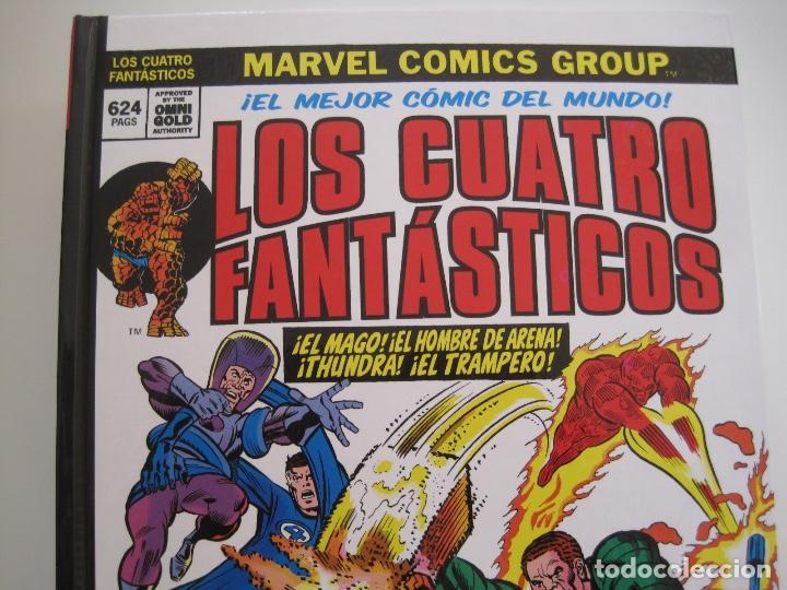 Cómics: LOS 4 CUATRO FANTASTICOS--MARVEL GOLD OMNIGOLD--MARVEL PANINI --7 TOMOS--NUEVOS - Foto 3 - 171175364