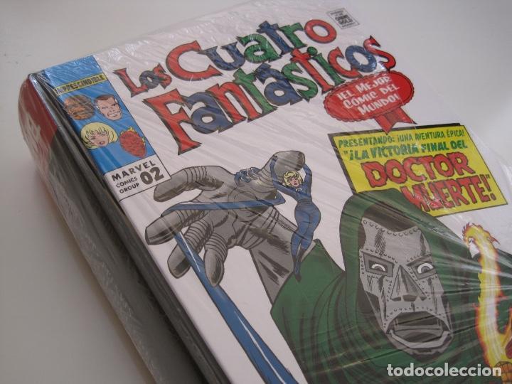 Cómics: LOS 4 CUATRO FANTASTICOS--MARVEL GOLD OMNIGOLD--MARVEL PANINI --7 TOMOS--NUEVOS - Foto 4 - 171175364