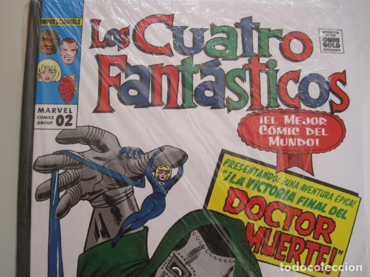 Cómics: LOS 4 CUATRO FANTASTICOS--MARVEL GOLD OMNIGOLD--MARVEL PANINI --7 TOMOS--NUEVOS - Foto 5 - 171175364