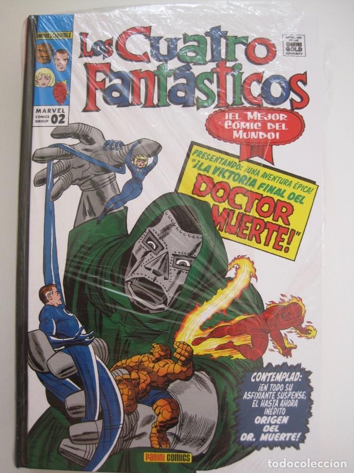 Cómics: LOS 4 CUATRO FANTASTICOS--MARVEL GOLD OMNIGOLD--MARVEL PANINI --7 TOMOS--NUEVOS - Foto 12 - 171175364