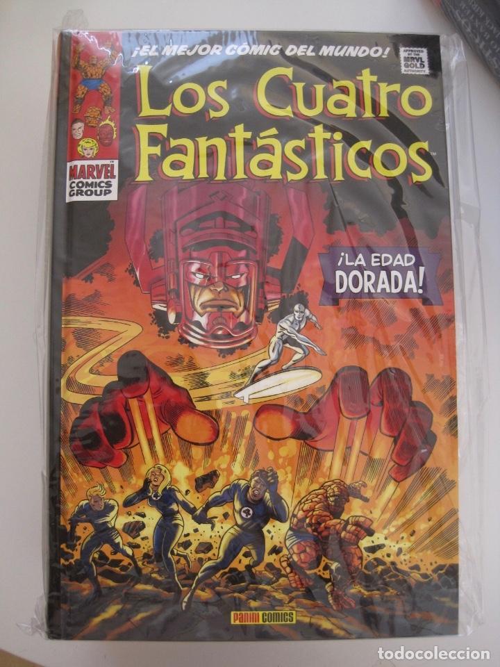 Cómics: LOS 4 CUATRO FANTASTICOS--MARVEL GOLD OMNIGOLD--MARVEL PANINI --7 TOMOS--NUEVOS - Foto 13 - 171175364