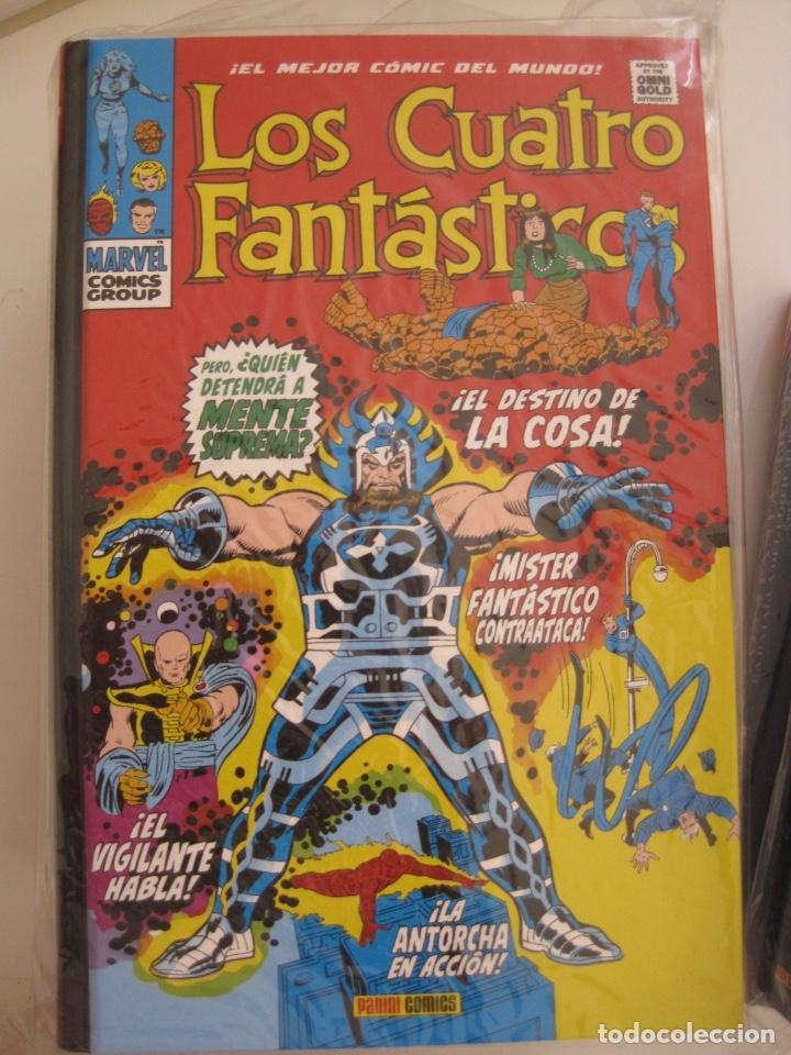 Cómics: LOS 4 CUATRO FANTASTICOS--MARVEL GOLD OMNIGOLD--MARVEL PANINI --7 TOMOS--NUEVOS - Foto 14 - 171175364