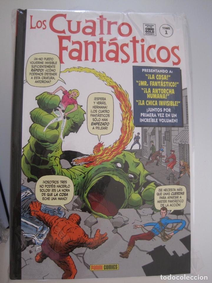 Cómics: LOS 4 CUATRO FANTASTICOS--MARVEL GOLD OMNIGOLD--MARVEL PANINI --7 TOMOS--NUEVOS - Foto 15 - 171175364